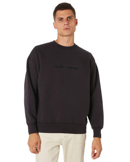 HERITAGE BLACK MENS CLOTHING THRILLS JUMPERS - TH9-214HBHRBLK
