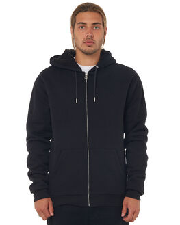 BLACK MENS CLOTHING QUIKSILVER JUMPERS - EQYFT03770KVJ0