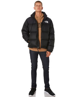 TNF BLACK MENS CLOTHING THE NORTH FACE JACKETS - NF0A3C8DJK3