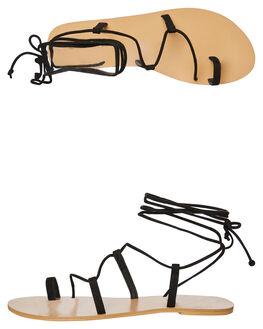 BLACK SUEDE WOMENS FOOTWEAR BILLINI FASHION SANDALS - S631BLKSD