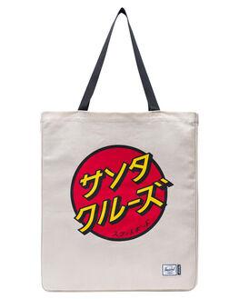 JAPANESE NATURAL MENS ACCESSORIES HERSCHEL SUPPLY CO BAGS + BACKPACKS - 10611-02568-OSJNAT