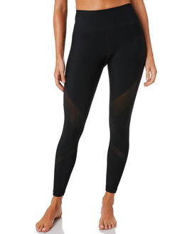 BLACK WOMENS CLOTHING HURLEY ACTIVEWEAR - AR1415010