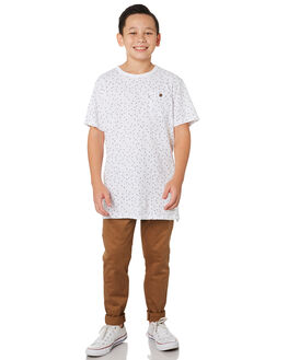 NEW COFFEE KIDS BOYS ACADEMY BRAND PANTS - B19W104NCOF