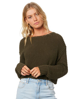 OLIVE BRANCH WOMENS CLOTHING BILLABONG KNITS + CARDIGANS - 6595796361