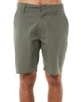 DARK SAGE MENS CLOTHING BRIXTON SHORTS - 04092DRKSG