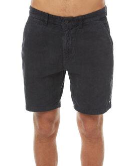 BLACK CORD MENS CLOTHING AFENDS SHORTS - 09-07-008BKCOR