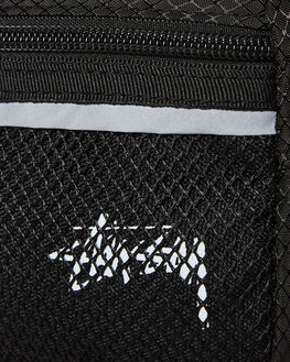 BLACK MENS ACCESSORIES STUSSY BAGS + BACKPACKS - ST793014BLK