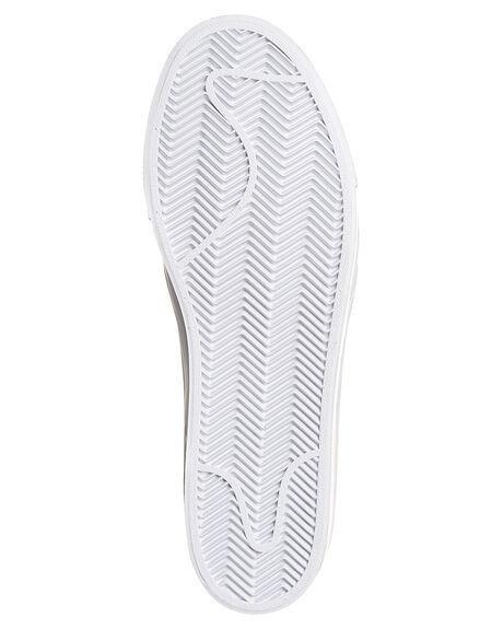 SUMMIT WHITE BLACK MENS FOOTWEAR NIKE SKATE SHOES - SS854321-100M