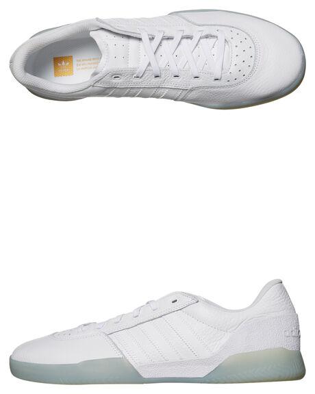 68f2824a70cb27 WHITE WHITE MENS FOOTWEAR ADIDAS SKATE SHOES - CG5635WHI
