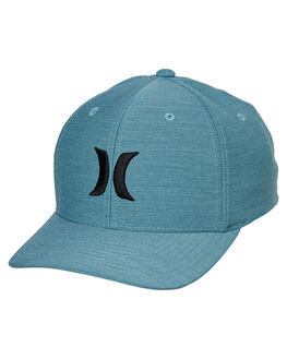 CELESTIAL TEAL BLACK MENS ACCESSORIES HURLEY HEADWEAR - AH9624-403