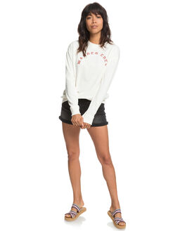 MARSHMALLOW WOMENS CLOTHING ROXY JUMPERS - ERJFT03814WBT0