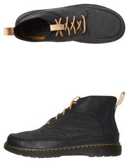 BLACK MENS FOOTWEAR DR. MARTENS BOOTS - SS23924001BLKM