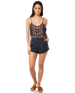 INDIGO WOMENS CLOTHING TIGERLILY PLAYSUITS + OVERALLS - T381429IND