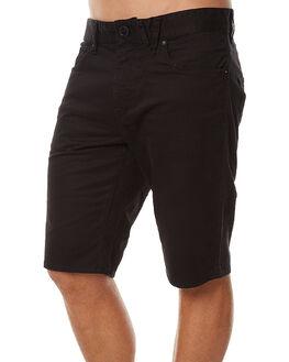 BLACK MENS CLOTHING VOLCOM SHORTS - A0911708BLK