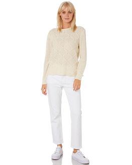 VINTAGE WHITE WOMENS CLOTHING VOLCOM KNITS + CARDIGANS - B0711978VWH