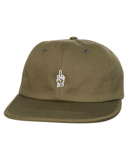 OLIVE MENS ACCESSORIES GOOD WORTH HEADWEAR - HLE1641OLIV