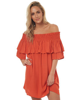 CARNELIAN WOMENS CLOTHING TIGERLILY DRESSES - T372437CAR