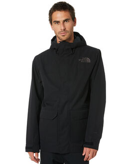 TNF BLACK MENS CLOTHING THE NORTH FACE JACKETS - NF0A4AGDJK3