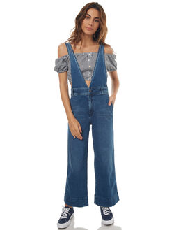 BLUE WOMENS CLOTHING FREE PEOPLE PLAYSUITS + OVERALLS - OB6147485413