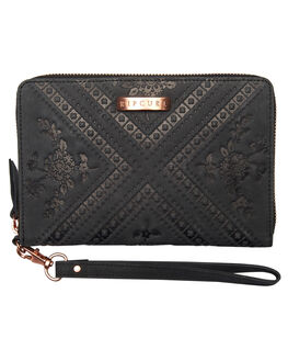 BLACK WOMENS ACCESSORIES RIP CURL PURSES + WALLETS - LWLDJ10090