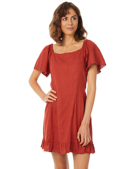CANYON RED WOMENS CLOTHING RUE STIIC DRESSES - SA18-15-CR-L-CAN