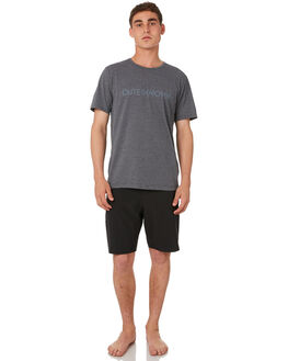 CHARCOAL HEATHER MENS CLOTHING OUTERKNOWN TEES - 1290005CHH