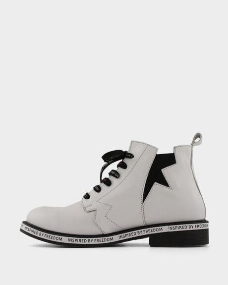 WHITE WOMENS FOOTWEAR BUENO BOOTS - FREEDOMWHITE37