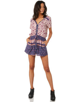 VINTAGE SCARF WOMENS CLOTHING O'NEILL PLAYSUITS + OVERALLS - 4821803VNF