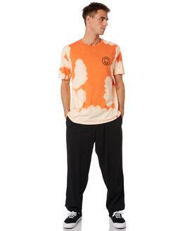 ORANGE WHITE WASH MENS CLOTHING SPITFIRE TEES - 51010238AQOWWSH