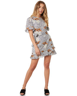 BAMBOO FLORAL WOMENS CLOTHING STEVIE MAY DRESSES - SL190506DBAMFL