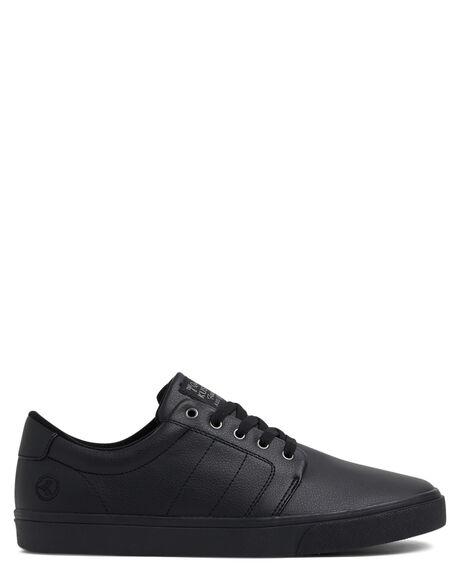 SKOOL BLACK MENS FOOTWEAR KUSTOM SNEAKERS - KS-4994117-S64