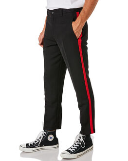 RED BLACK MENS CLOTHING THE PEOPLE VS PANTS - HS18075REDBK
