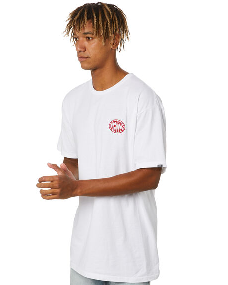 WHITE MENS CLOTHING VANS TEES - VN0A4ROWWHTWHT