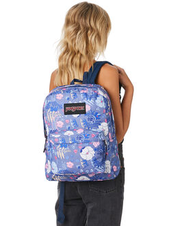 BLUE LIANA VINES WOMENS ACCESSORIES JANSPORT BAGS + BACKPACKS - JSTWK8-JS61M