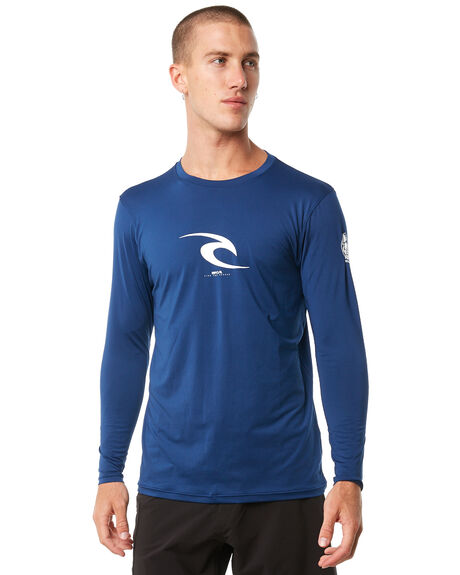 NAVY OUTLET BOARDSPORTS RIP CURL RASHVESTS - WLY5MM0049