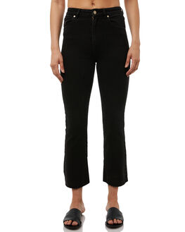 SUNSET STRIP BLACK WOMENS CLOTHING A.BRAND JEANS - 707752643