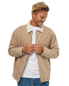 LIGHT FENNEL MENS CLOTHING RUSTY JACKETS - JKM0386LFN