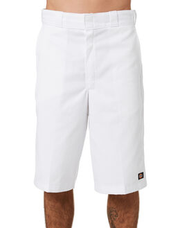 WHITE MENS CLOTHING DICKIES SHORTS - 42283WHI