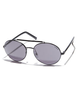 MATT BLACK WOMENS ACCESSORIES LIIVE VISION SUNGLASSES - L0592BMTBLK
