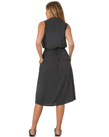 BLACK OUTLET WOMENS THE HIDDEN WAY DRESSES - H8188444BLACK