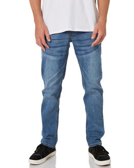 SALT BLUE MENS CLOTHING RIP CURL JEANS - CDEDD19421