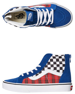 TRUE BLUE KIDS BOYS VANS SNEAKERS - VNA4BUXV3G