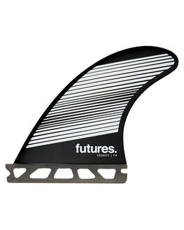 GREY BLACK BOARDSPORTS SURF FUTURE FINS FINS - 1140-160-50GRYBK
