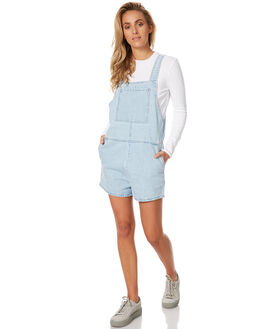SEA BLUE WOMENS CLOTHING ASSEMBLY PLAYSUITS + OVERALLS - AW-S1732SBLU