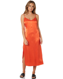 ORANGE WOMENS CLOTHING TWIIN DRESSES - IE19S1453ORA