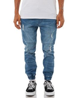 LIGHT DENIM MENS CLOTHING ACADEMY BRAND PANTS - 18W141LDEN