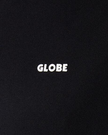 BLACK MENS CLOTHING GLOBE TEES - GB01910001BLK