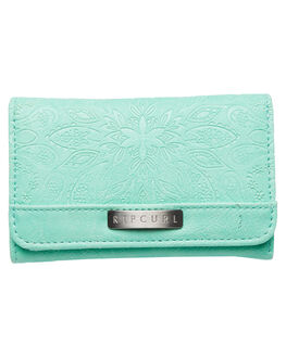 TURQUOISE WOMENS ACCESSORIES RIP CURL PURSES + WALLETS - LWUFE10074