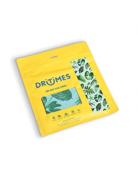 GREEN OUTDOOR BEACH DRITIMES TOWELS - DTG011