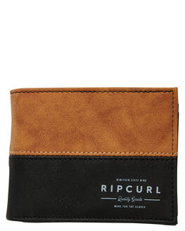 TAN MENS ACCESSORIES RIP CURL WALLETS - BWUKK21046